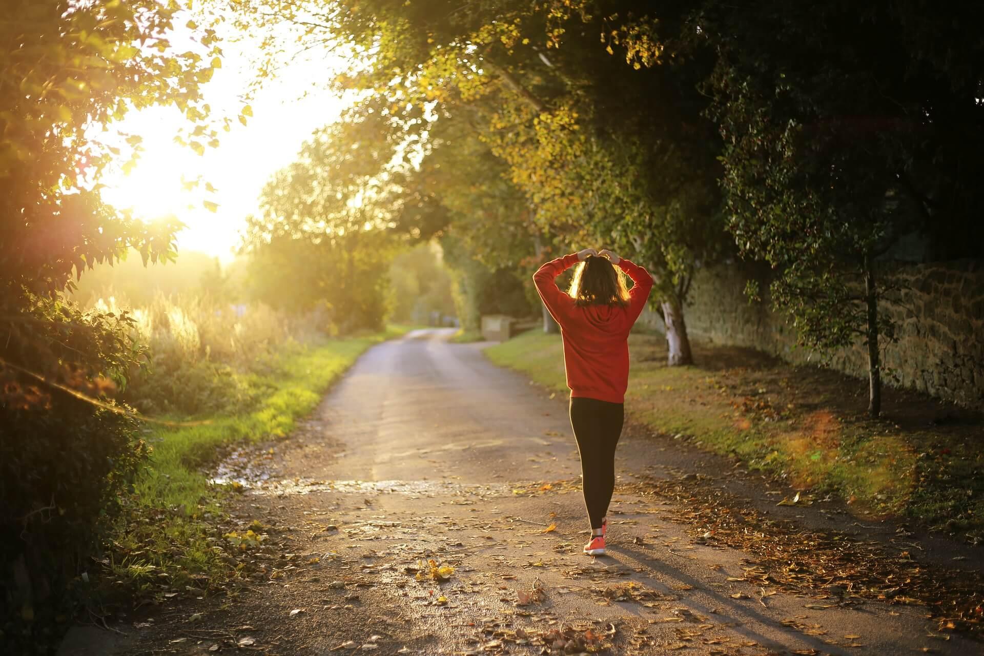 marcher 5 km par jour