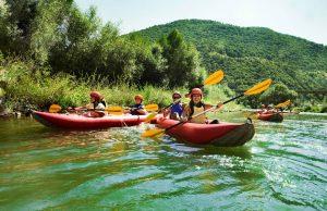 faire du canoë-kayak en France